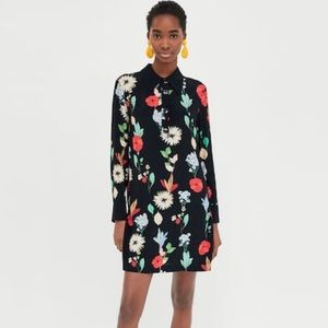 Zara shirt dress S